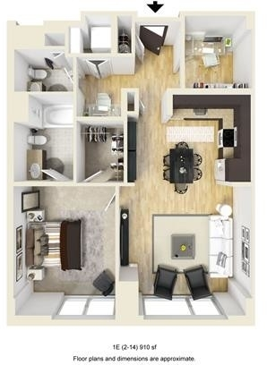 1 Bedroom, West Fens Rental in Boston, MA for $5,412 - Photo 1