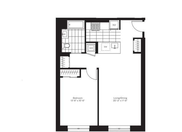 1 Bedroom, Flatbush Rental in NYC for $2,825 - Photo 1