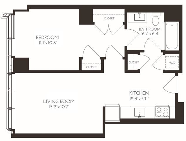1 Bedroom, Seaport District Rental in Boston, MA for $3,716 - Photo 1