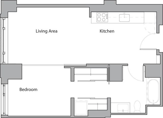 1 Bedroom, Shawmut Rental in Boston, MA for $3,185 - Photo 1