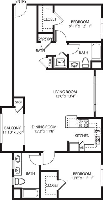 2 Bedrooms, Palms Rental in Los Angeles, CA for $4,204 - Photo 1