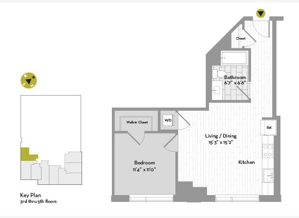 1 Bedroom, St. Marks Rental in Boston, MA for $3,128 - Photo 1