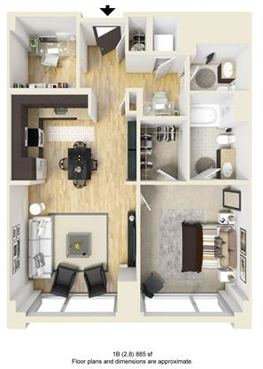 1 Bedroom, West Fens Rental in Boston, MA for $4,744 - Photo 1