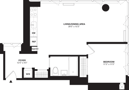 1 Bedroom, Chelsea Rental in NYC for $6,685 - Photo 1