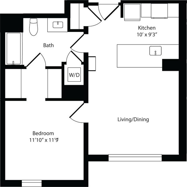 1 Bedroom, Harrison Lenox Rental in Boston, MA for $3,520 - Photo 1