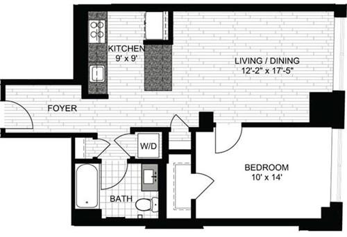 1 Bedroom, Downtown Boston Rental in Boston, MA for $3,045 - Photo 1