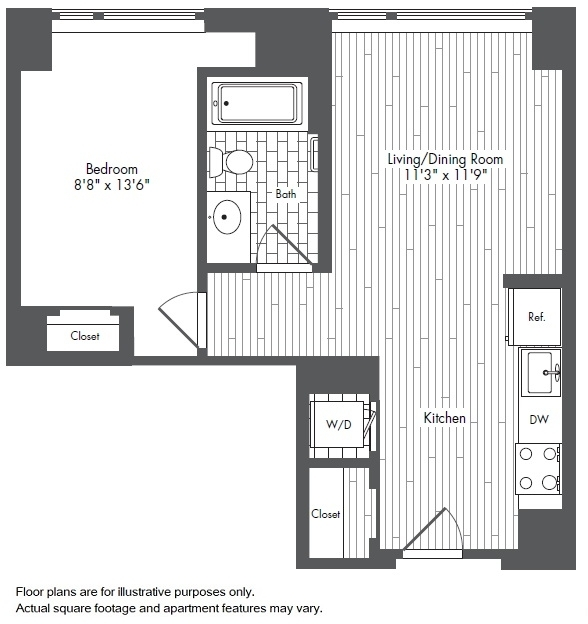 1 Bedroom, Seaport District Rental in Boston, MA for $3,505 - Photo 1
