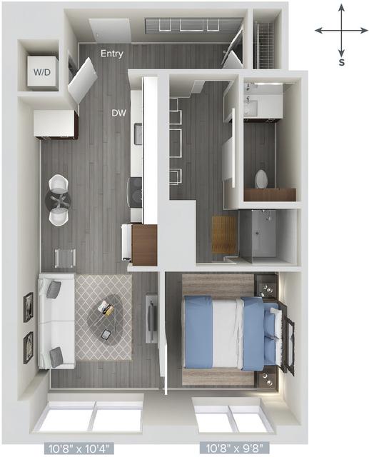 1 Bedroom, Downtown Boston Rental in Boston, MA for $3,821 - Photo 1