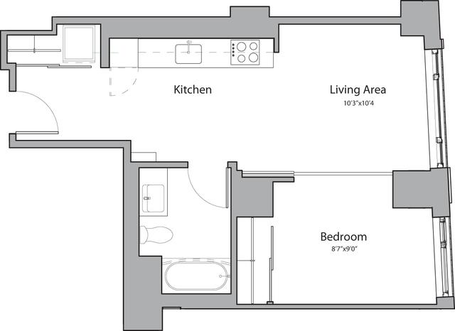 1 Bedroom, Shawmut Rental in Boston, MA for $3,255 - Photo 1