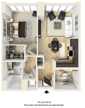 1 Bedroom, West Fens Rental in Boston, MA for $4,925 - Photo 1
