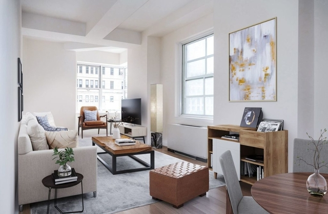 1 Bedroom, Financial District Rental in NYC for $3,737 - Photo 1