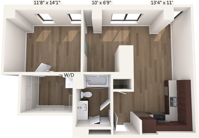 1 Bedroom, Downtown Boston Rental in Boston, MA for $3,440 - Photo 1