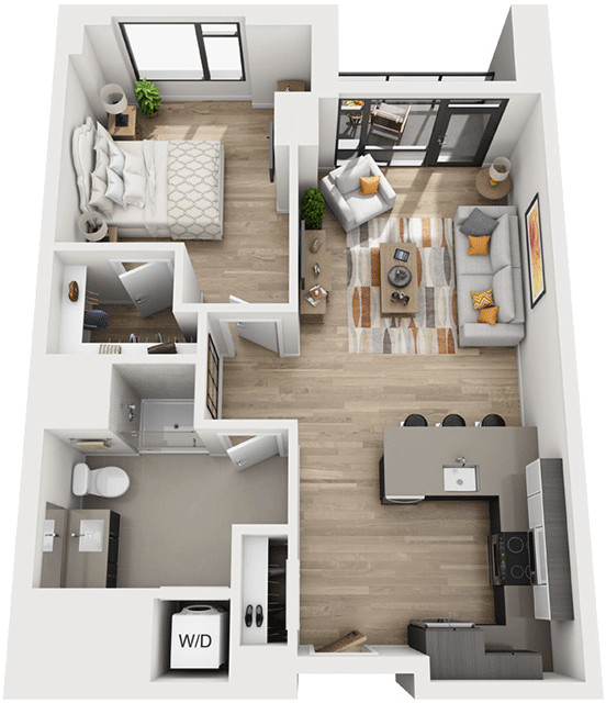 1 Bedroom, Shawmut Rental in Boston, MA for $4,348 - Photo 1