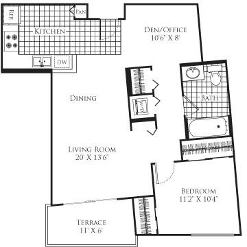 1 Bedroom, Little Tokyo Rental in Los Angeles, CA for $2,595 - Photo 1