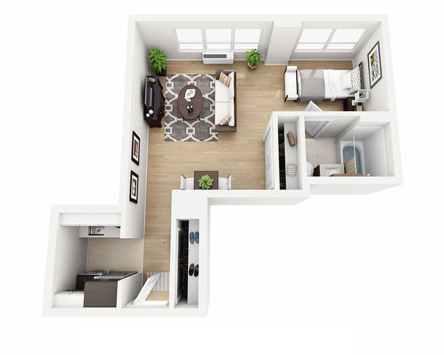 Studio, Manhattan Valley Rental in NYC for $3,475 - Photo 1