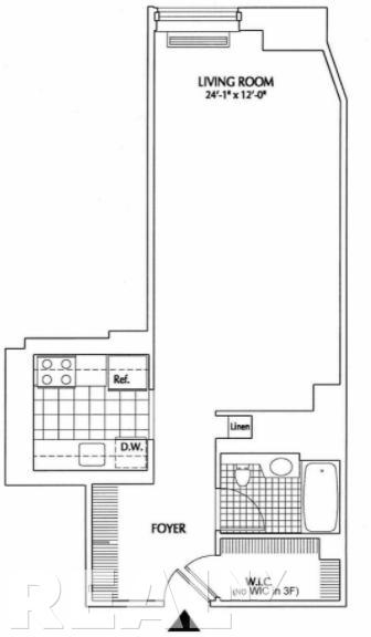 Studio, Financial District Rental in NYC for $3,060 - Photo 1