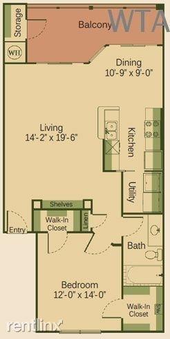 1 Bedroom, Fenway Park Rental in Austin-Round Rock Metro Area, TX for $1,240 - Photo 1