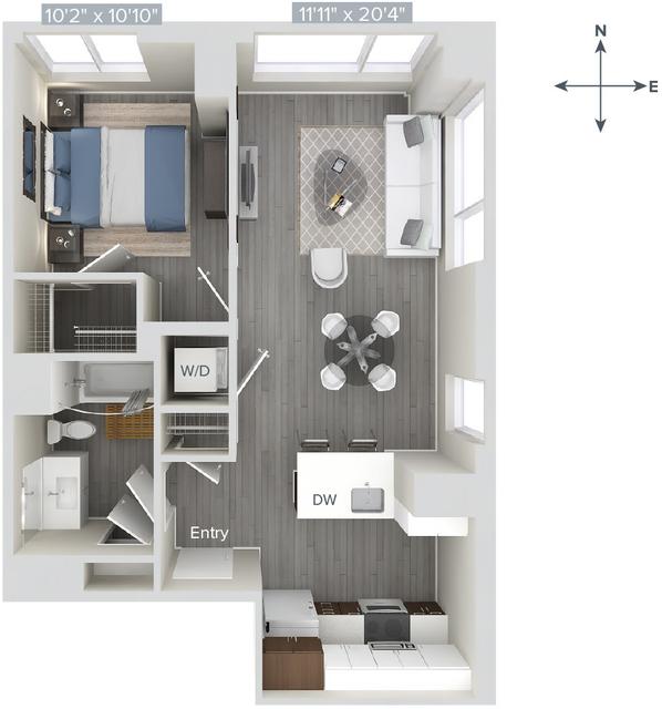 1 Bedroom, Downtown Boston Rental in Boston, MA for $3,435 - Photo 1
