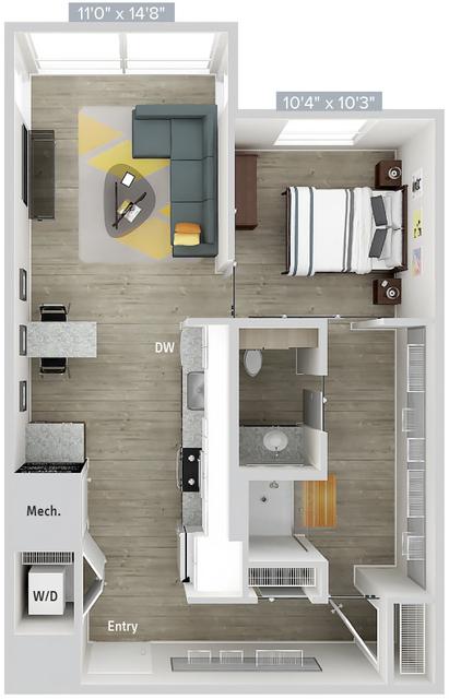 1 Bedroom, Natick Rental in Boston, MA for $2,990 - Photo 1