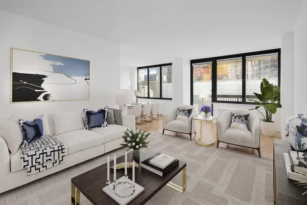 2 Bedrooms, Theater District Rental in NYC for $6,536 - Photo 1