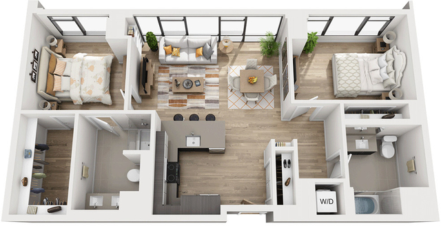 2 Bedrooms, Shawmut Rental in Boston, MA for $6,004 - Photo 1