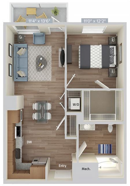 1 Bedroom, Natick Rental in Boston, MA for $3,225 - Photo 1