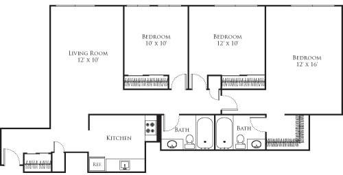 Studio, Riverside Rental in Boston, MA for $2,150 - Photo 1