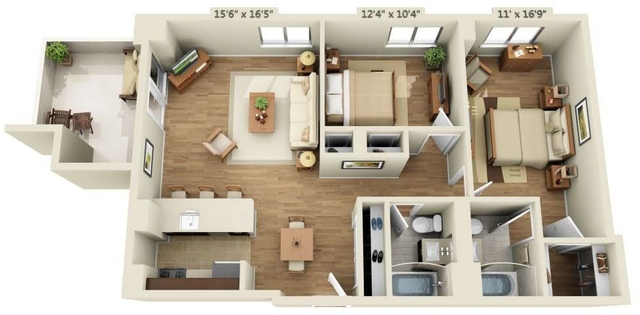 2 Bedrooms, Chelsea Rental in NYC for $7,897 - Photo 1