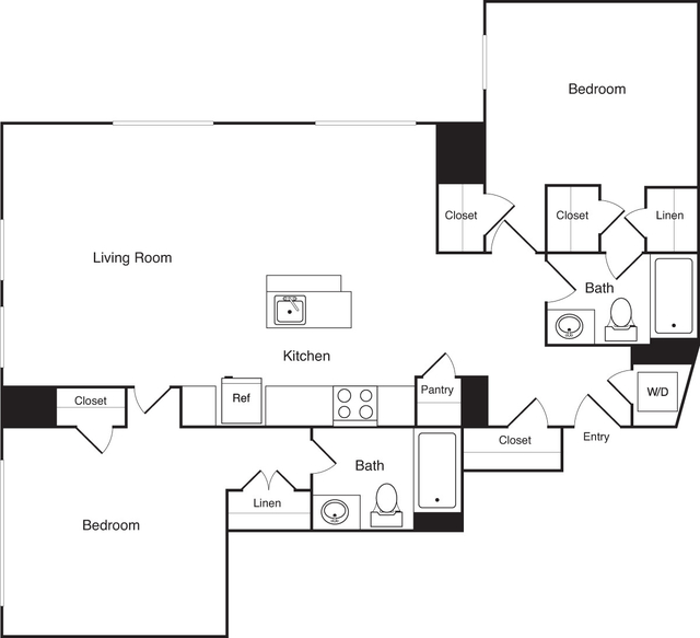 2 Bedrooms, Financial District Rental in Boston, MA for $4,295 - Photo 1