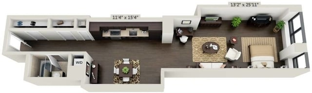 Studio, Financial District Rental in NYC for $4,034 - Photo 1