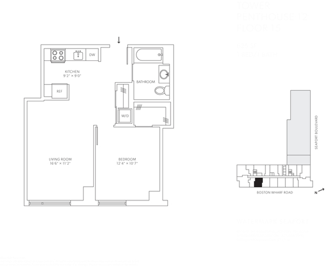 1 Bedroom, Seaport District Rental in Boston, MA for $3,502 - Photo 1
