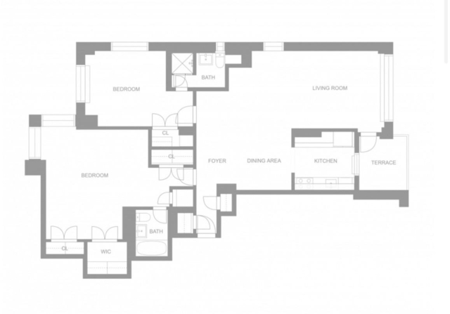 2 Bedrooms, Theater District Rental in NYC for $5,688 - Photo 1