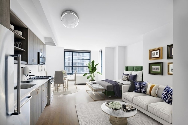 Studio, Hell's Kitchen Rental in NYC for $3,477 - Photo 1