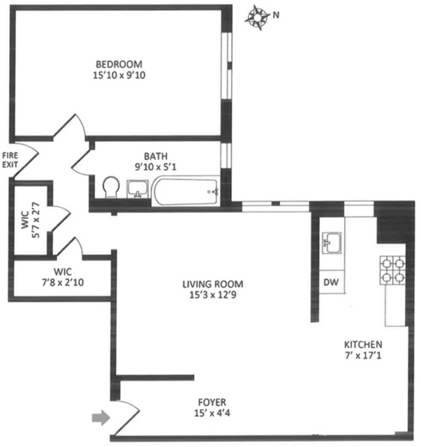 1 Bedroom, Concourse Village Rental in NYC for $1,875 - Photo 1