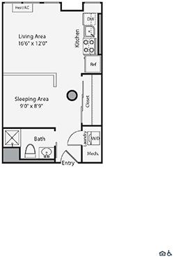 Studio, East Cambridge Rental in Boston, MA for $2,587 - Photo 1