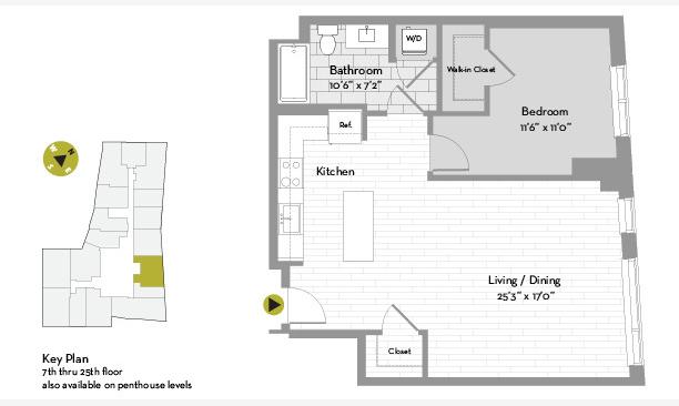 1 Bedroom, St. Marks Rental in Boston, MA for $4,063 - Photo 1