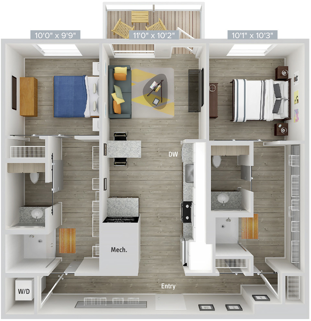 2 Bedrooms, Natick Rental in Boston, MA for $4,225 - Photo 1
