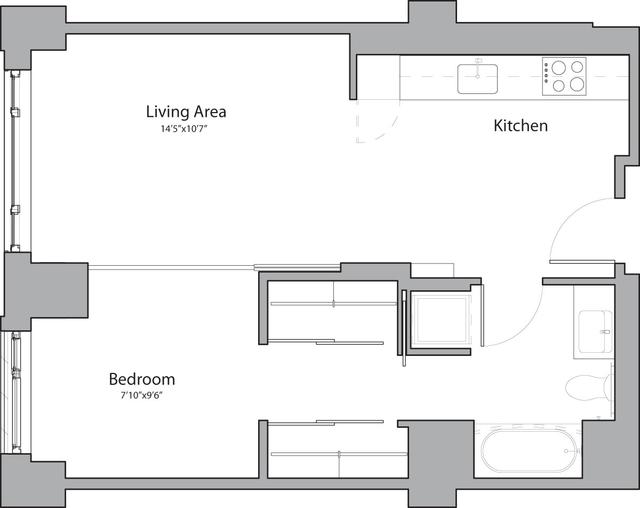 1 Bedroom, Shawmut Rental in Boston, MA for $3,090 - Photo 1