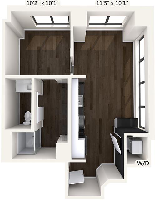 1 Bedroom, Downtown Boston Rental in Boston, MA for $3,009 - Photo 1