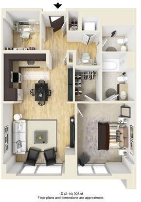 1 Bedroom, West Fens Rental in Boston, MA for $5,061 - Photo 1