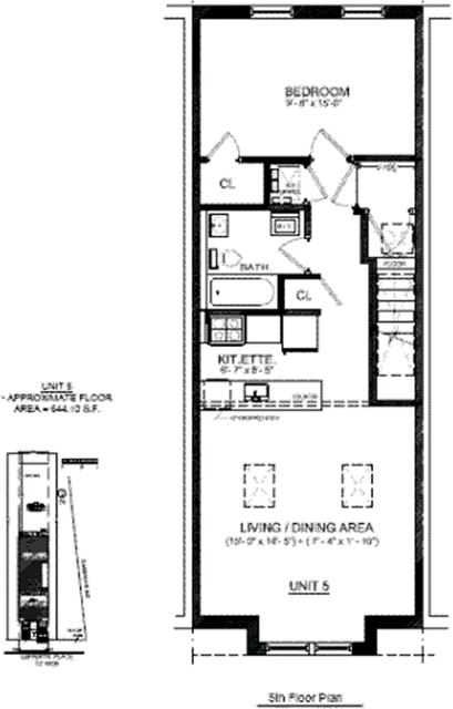 1 Bedroom, Bedford-Stuyvesant Rental in NYC for $2,725 - Photo 1
