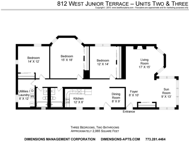 3 Bedrooms, Buena Park Rental in Chicago, IL for $2,650 - Photo 1
