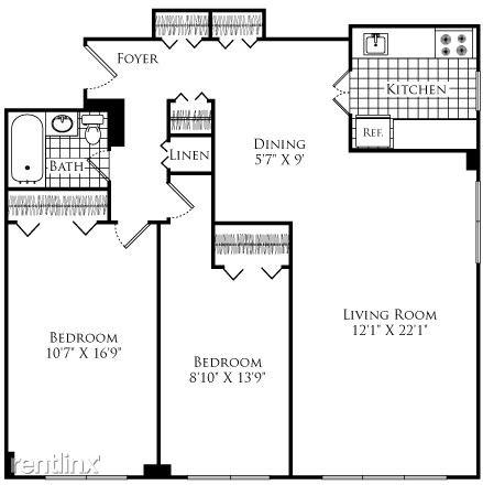 2 Bedrooms, Neighborhood Nine Rental in Boston, MA for $3,110 - Photo 1