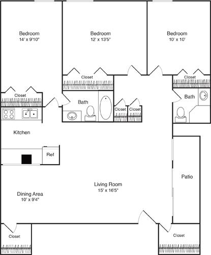 3 Bedrooms, Riverside Rental in Boston, MA for $4,140 - Photo 1