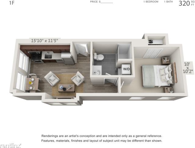 1 Bedroom, University City Rental in Philadelphia, PA for $1,320 - Photo 1