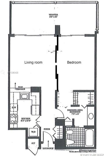 1 Bedroom, Millionaire's Row Rental in Miami, FL for $3,000 - Photo 1