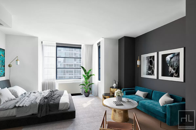 Studio, Hell's Kitchen Rental in NYC for $3,843 - Photo 1