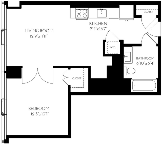 1 Bedroom, Seaport District Rental in Boston, MA for $4,954 - Photo 1