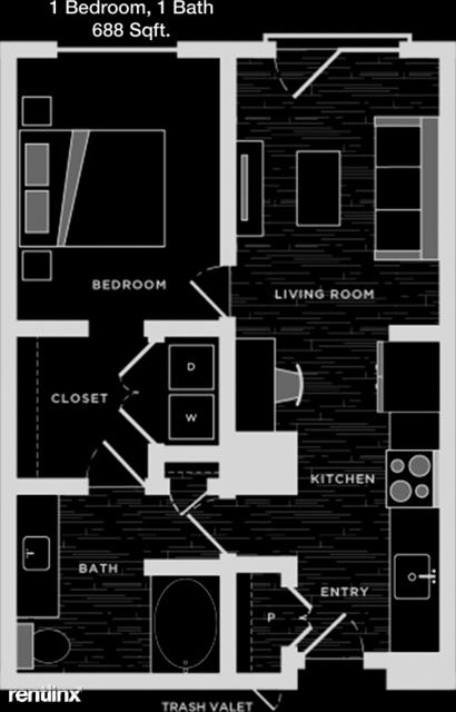 1 Bedroom, Plano Rental in Dallas for $1,328 - Photo 1