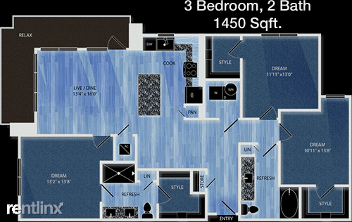3 Bedrooms, CentrePort Business Park Rental in Dallas for $1,825 - Photo 1